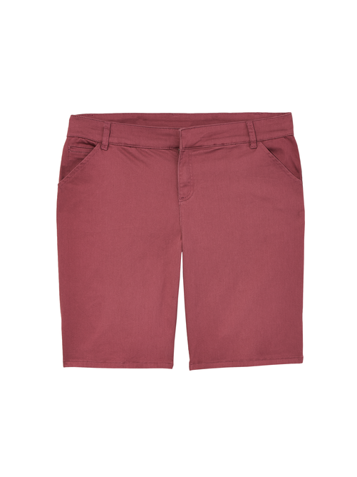 Sao Paulo Satin Shorts with Side Slit