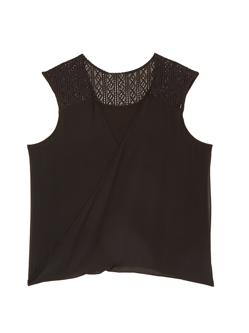 Odin Lace Cross Over Top