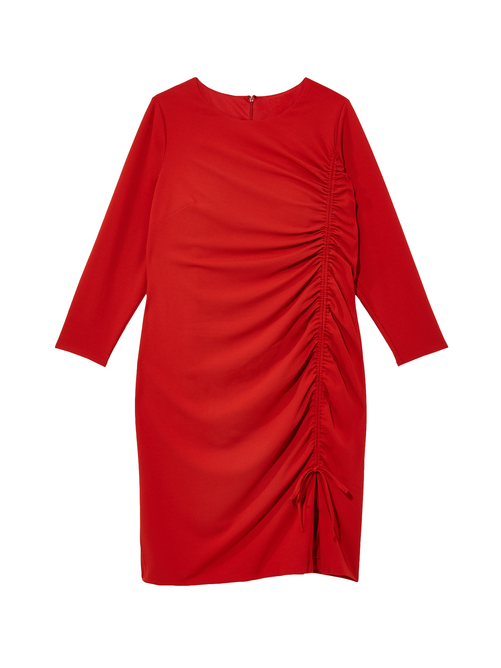 Roswell Ruched Detail Dress