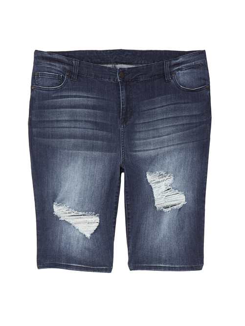 Nova Distressed Bermuda Shorts