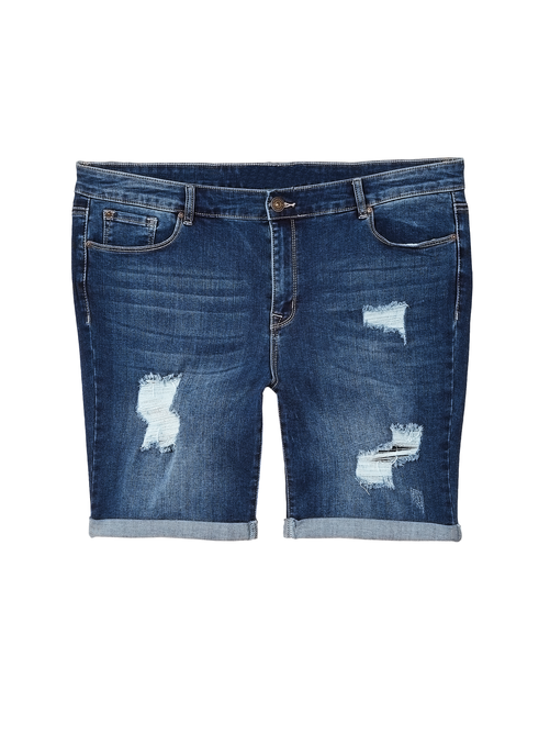 Dahl Distressed Bermuda Short