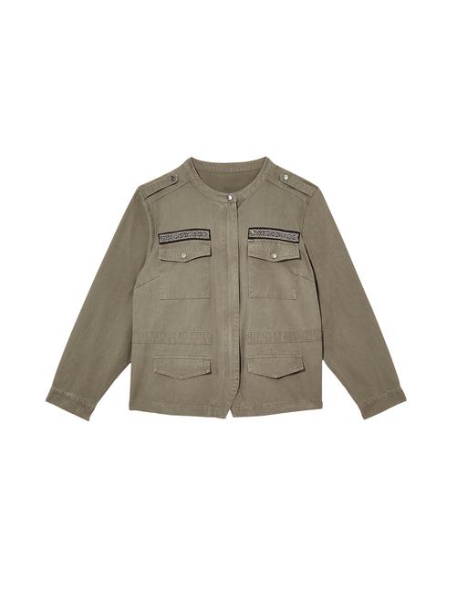 Neman Utility Jacket with Embellishment