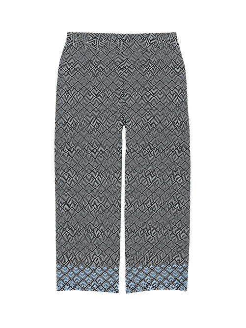 Merritt Wide Leg Cropped Pant