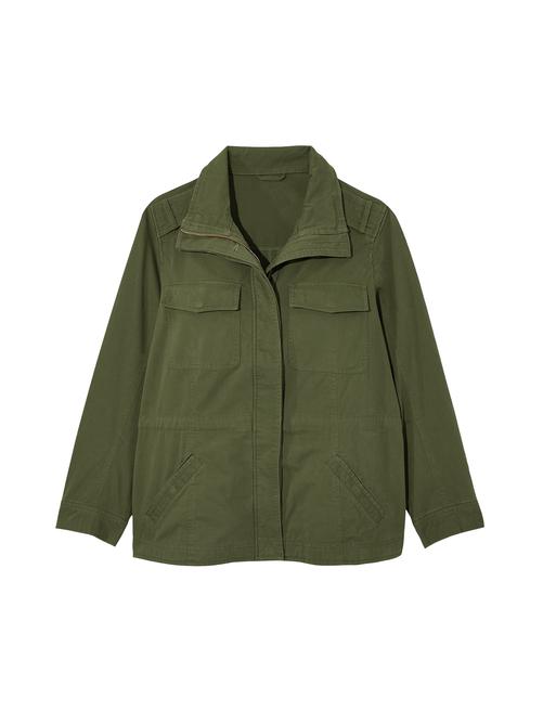 Camellia Cargo Jacket