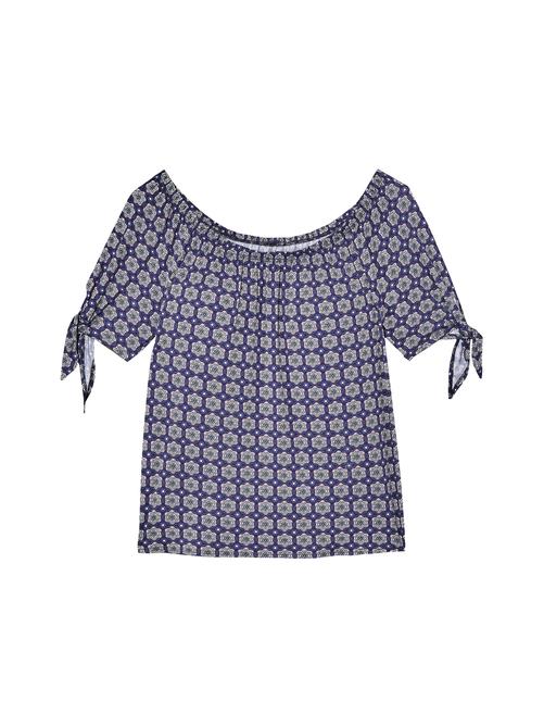 Judy Short Sleeve Off-the-Shoulder Tee