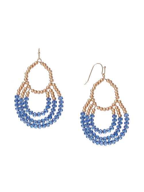 Sophia Glass Bead Classic Earrings