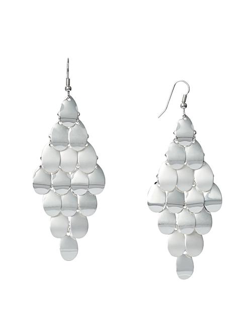 Madeline Diamond Shaped Drop Earrings