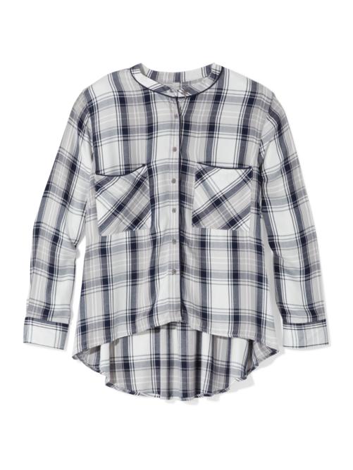 Jenna Plaid Button Down Shirt
