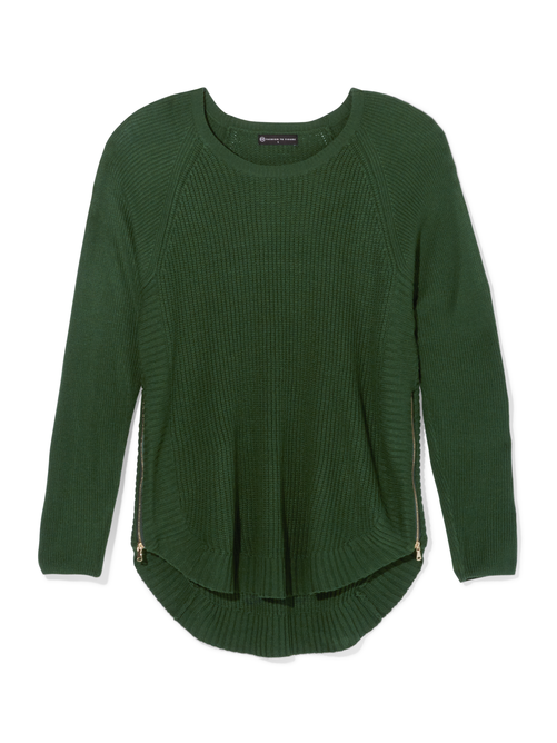 Taylor Side Zip Sweater
