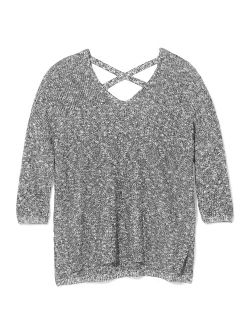 Tara Criss-Cross Back Sweater