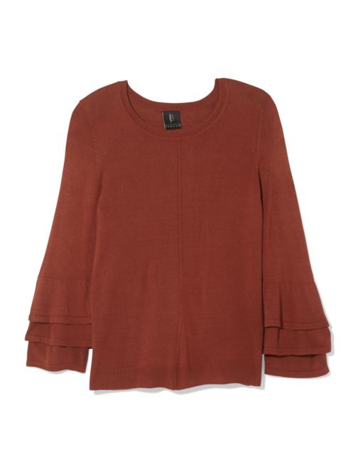 Margo Ruffle Sleeve Sweater