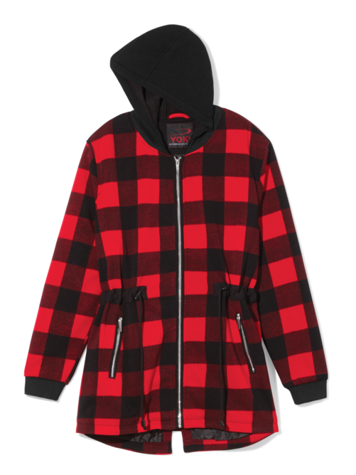 Viena Plaid Jacket