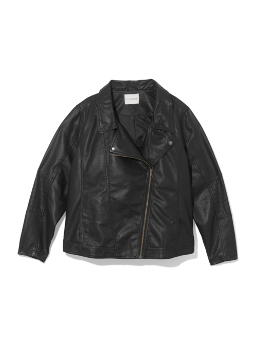 Yasmine Faux Leather Jacket