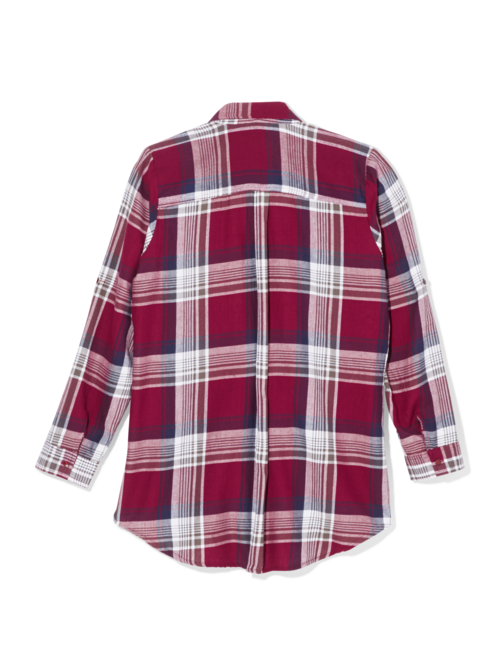 Leah Plaid Shirt 1