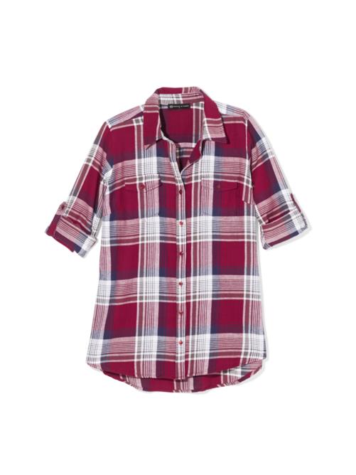 Leah Plaid Shirt 2