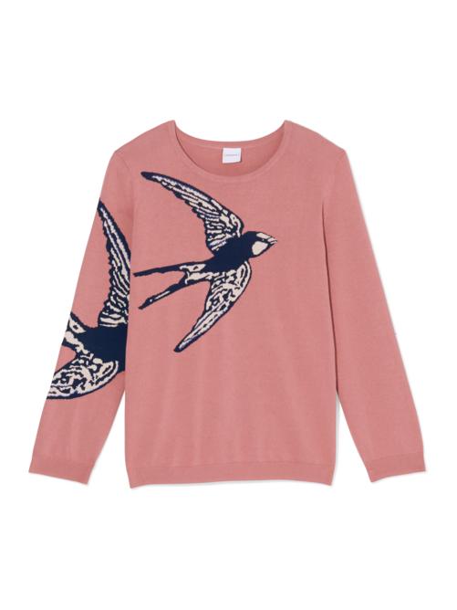 Monique Graphic Pullover Sweater