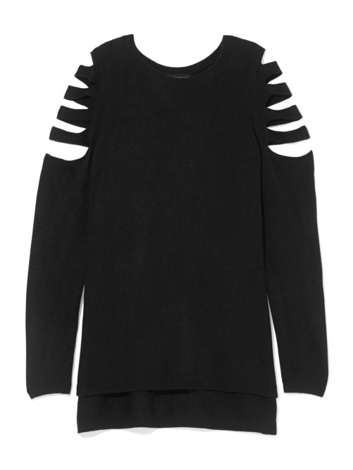Serena Slash Cold Shoulder Sweater