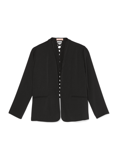 Tamar Lace-Up Back Blazer
