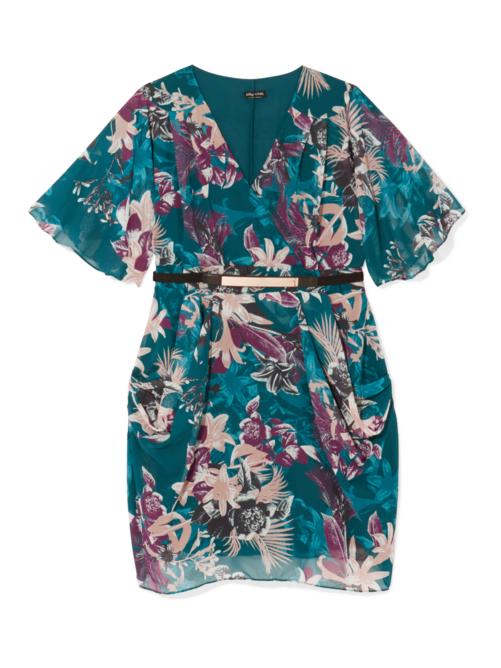 Malia Printed Dress