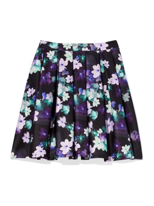 Marano Floral Scuba Flare Skirt