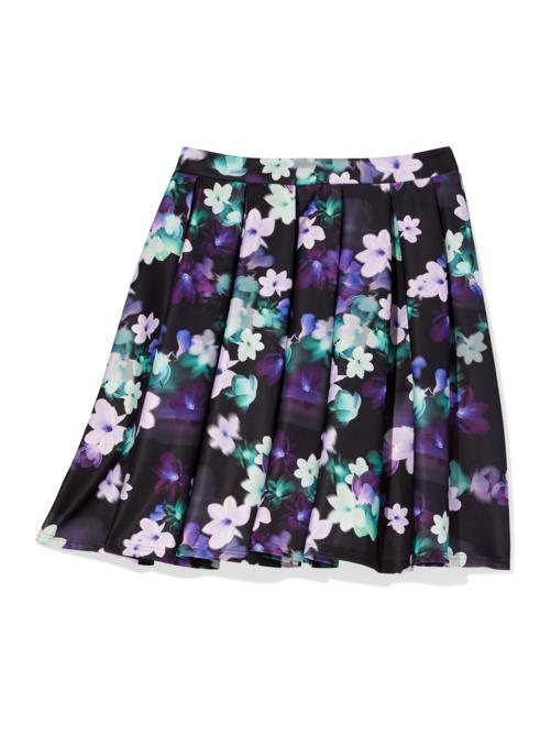 Marano Floral Scuba Flare Skirt 2