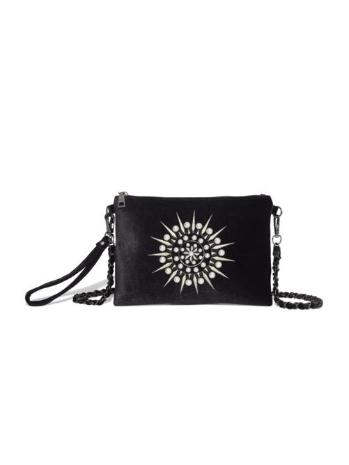 Alboran Beaded Velvet Bag