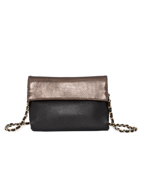 Biscayne Metallic Clutch