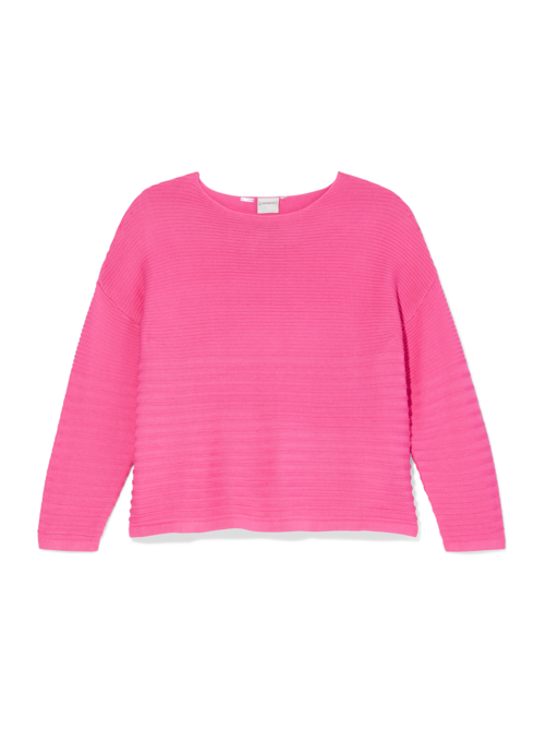Rosa Ribbed Boat Neck Sweater