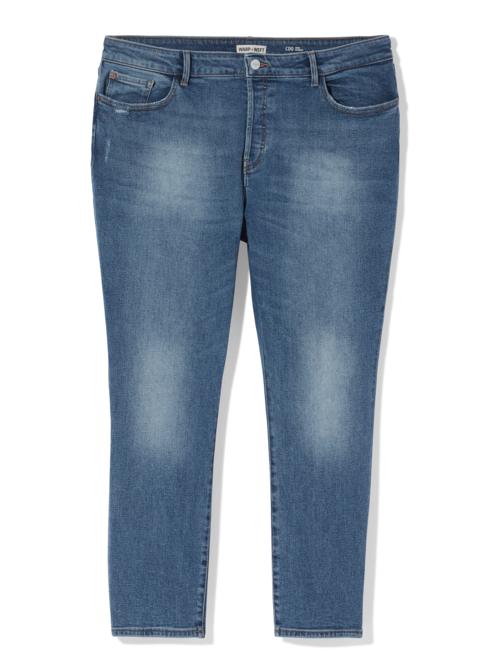 Kensington High Rise Fashion Crop Straight Leg Jean