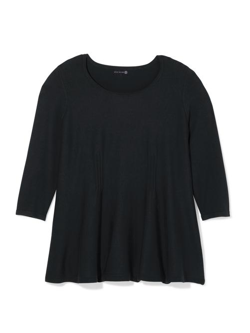 Carol 3/4 Sleeve Peplum Sweater
