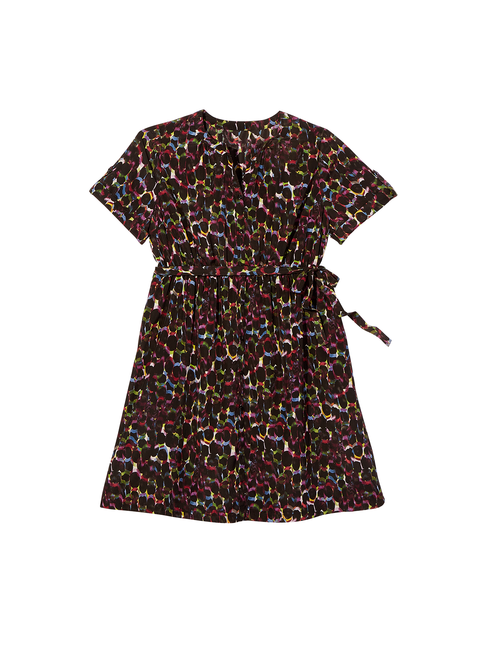 Boston Short Sleeve Belted Shirt Dress