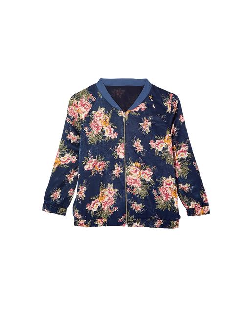 Lindah Floral Bomber Jacket