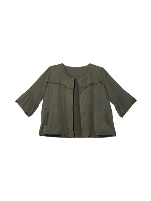 Karina Flutter Sleeve Jacket