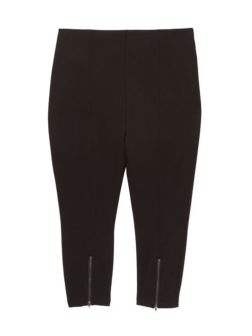 Mindy Capri Legging with Zipper Detail 1
