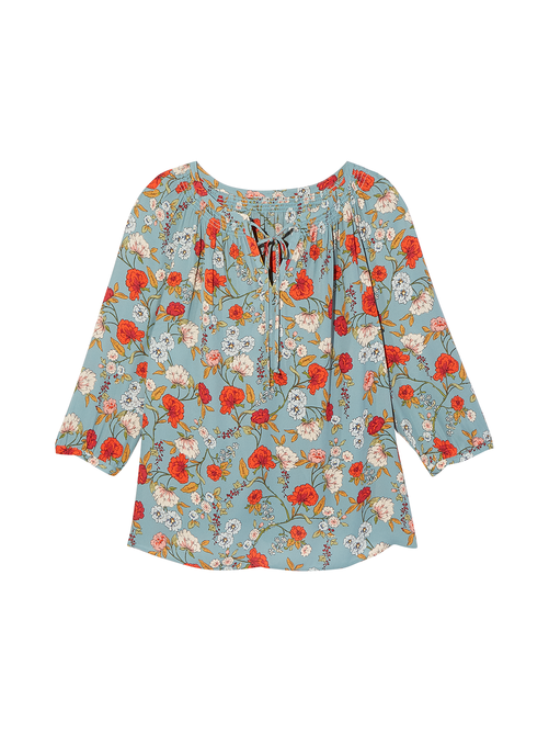 Cicely Neck Tied Blouse