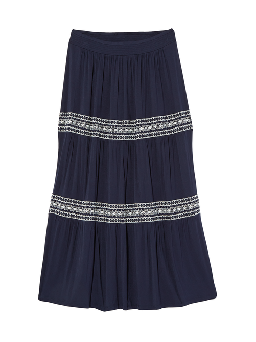 Shasta Maxi Tiered Peasant Skirt