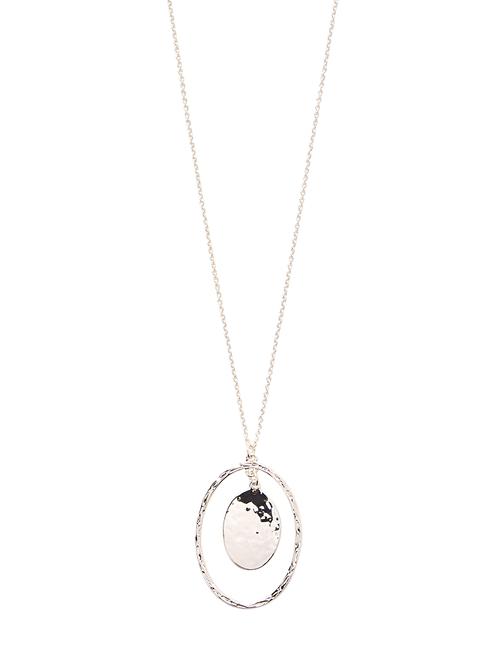 Iris Pendant Necklace