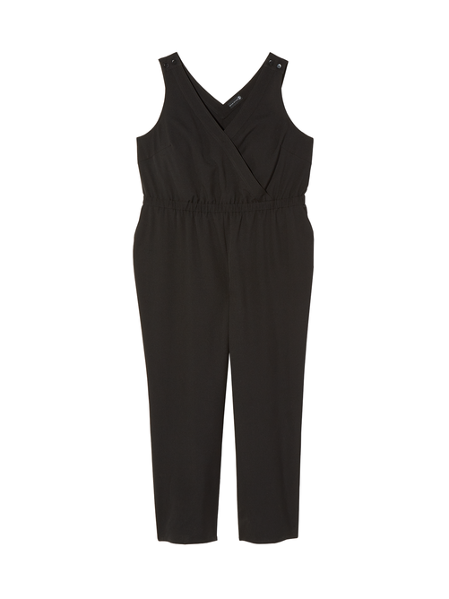 Hoboken Sleeveless Wide Leg Jumpsuit