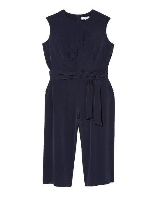 Meadow Cap Sleeve Asymmetrical Jumpsuit