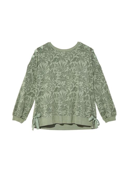 Karin Long Sleeve Printed Sweatshirt