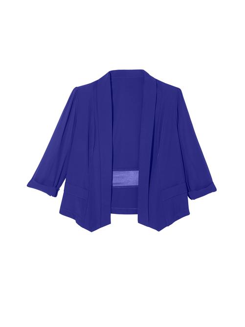 Adelaide Sheer Sleeve Blazer