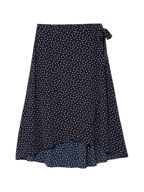 Buttercup High-Low Faux Wrap Maxi Skirt