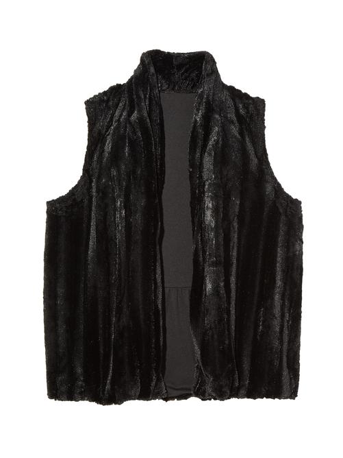 Kim Sleeveless Faux Fur Vest