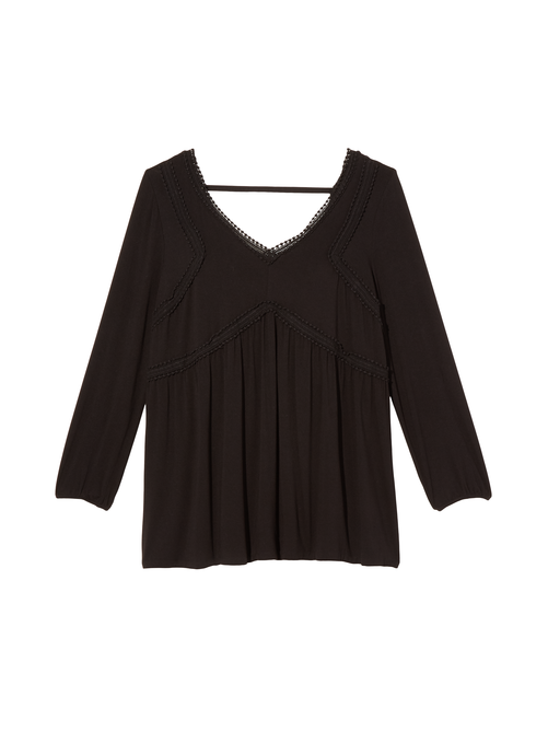 Teagan V-Neck Empire Blouse