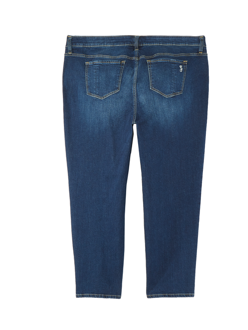 Varick Rolled Boyfriend Jeans 1
