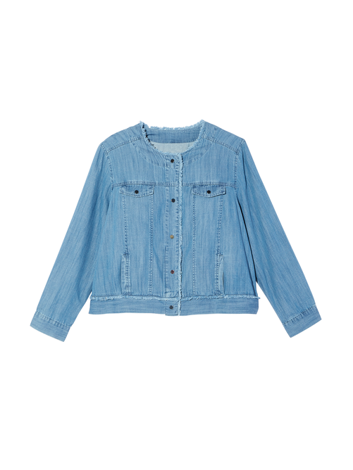 Bristol Snap Front Denim Jacket