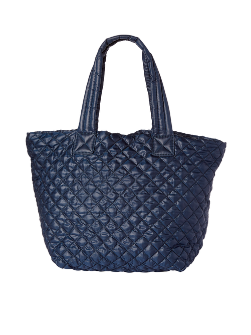 Heather Quilted Tote Bag