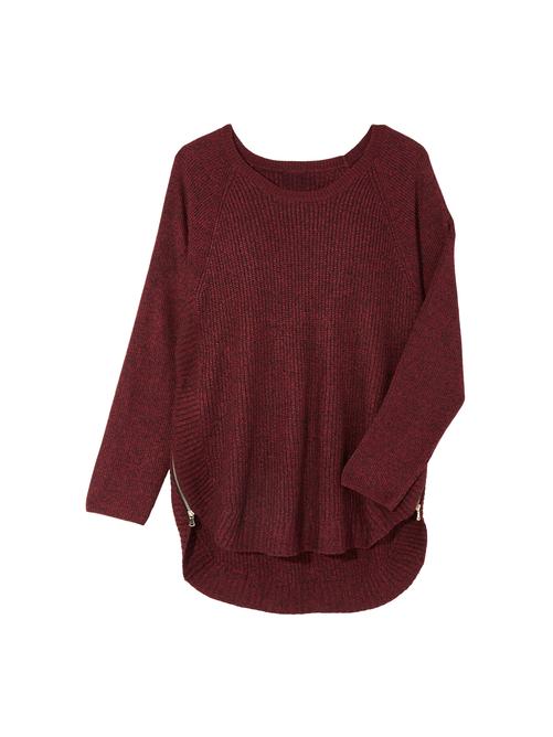 Taylor Side Zip Sweater 2
