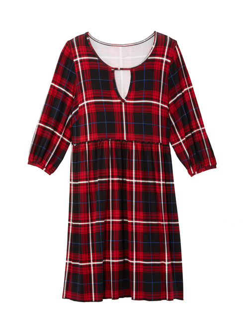 Dolly Plaid Dress