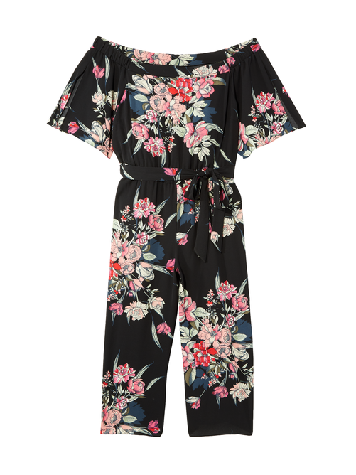 Linzai Off The Shoulder Jumpsuit